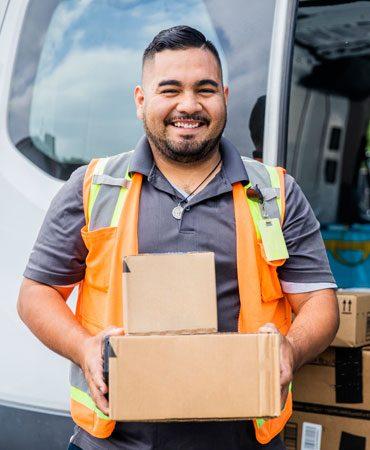 Standard parcel delivery